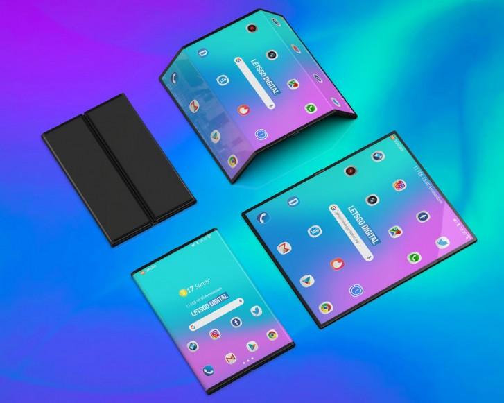Концепт Xiaomi Mi Fold (Flex)